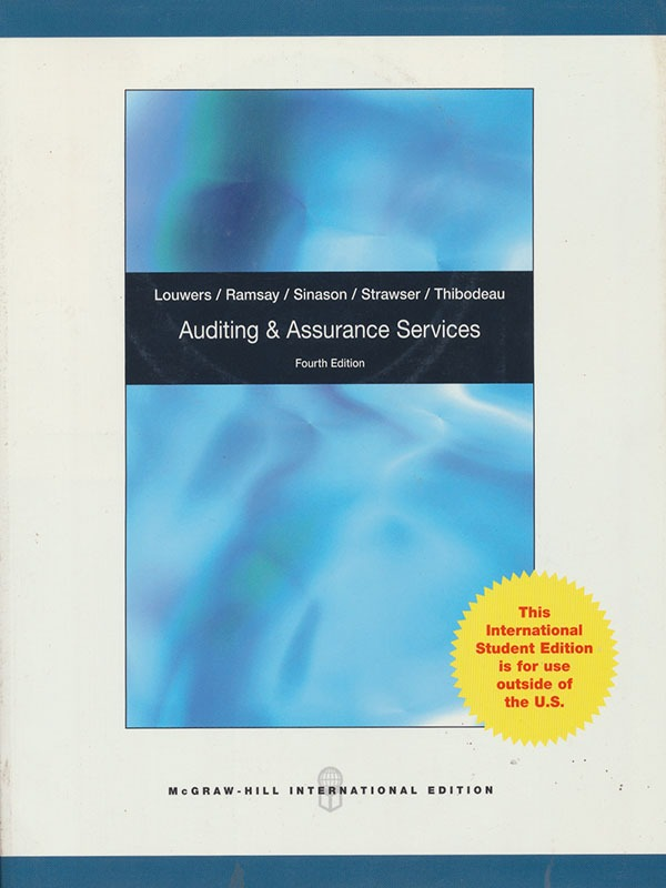 Auditing and Assurance Services 4e/LOUWERS