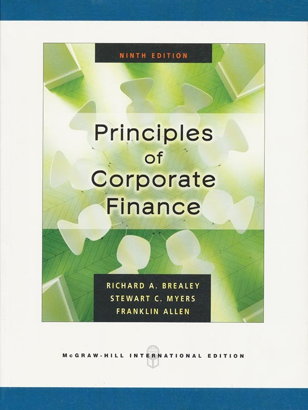 Principles of Corporate Finance 9e/BREALEY