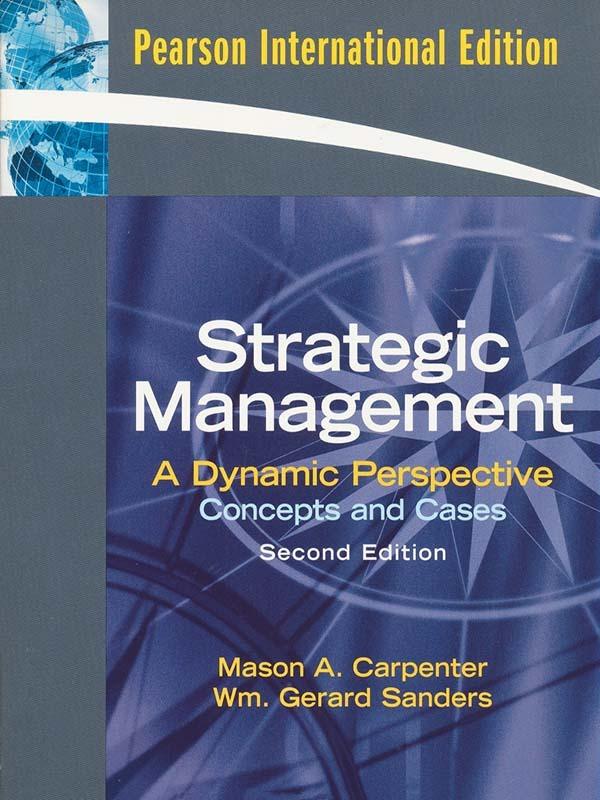 Strategic Management 2e/CARPENTER