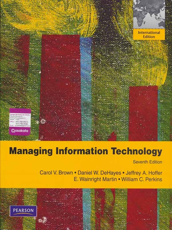 Managing information technology 7e/BROWN