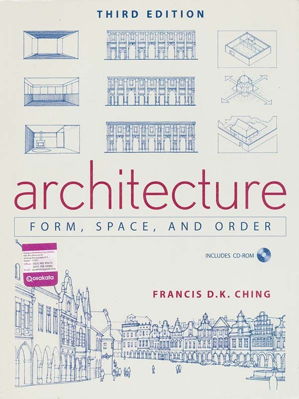 Architecture: Form, Space, and Order 3e/CHING