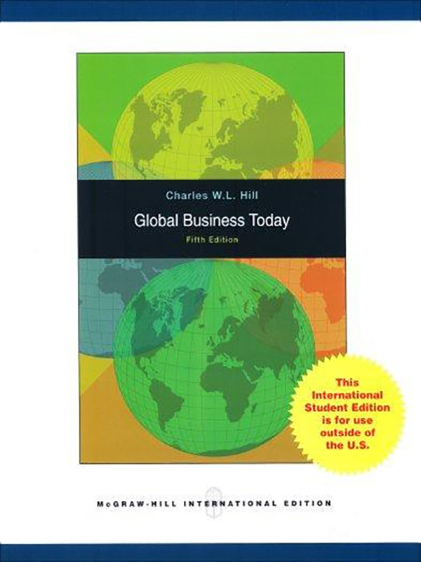 Global Business Today 5e - 2008/HILL
