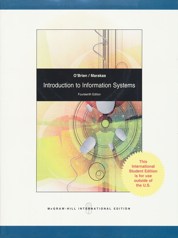 Introduction Information Systems 14e/OBRIEN