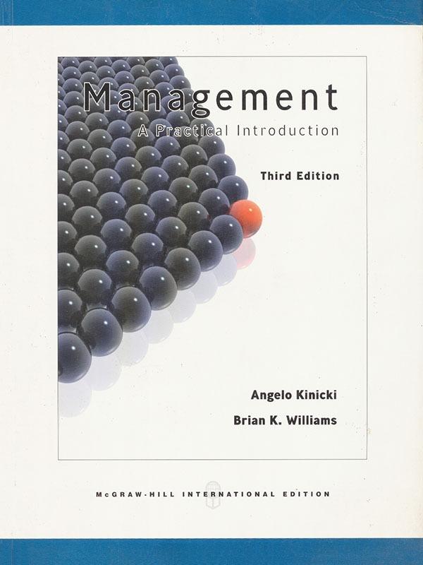 Management: A Practical Introduction 3e/KINICKI