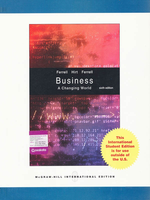 Business: A Changing World 6e/FERREL