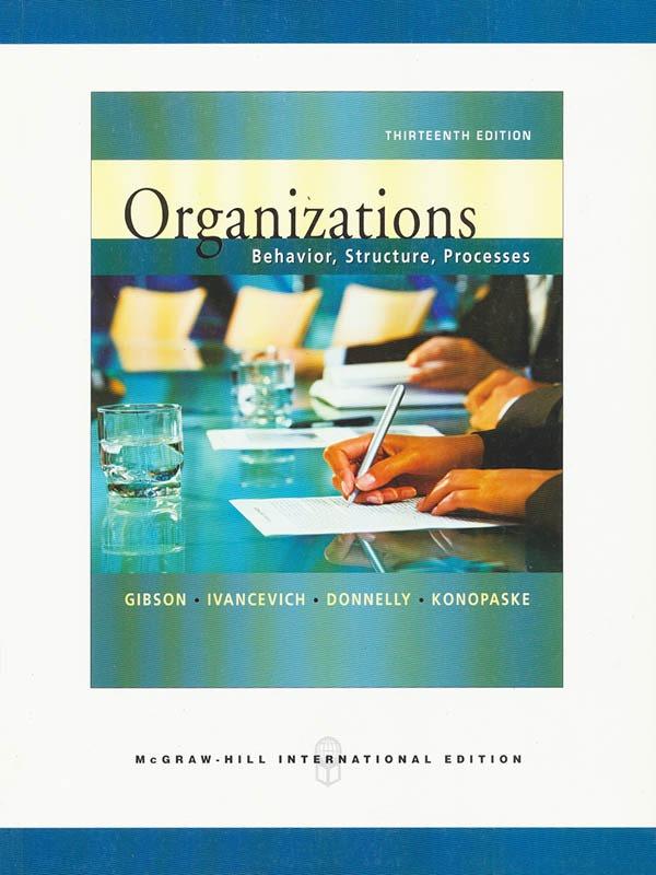 Organizations 13e/GIBSON