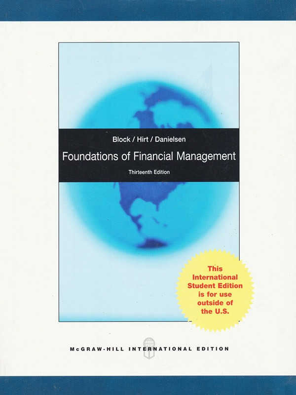 Foundations of Financial Management 13e/BLOCK