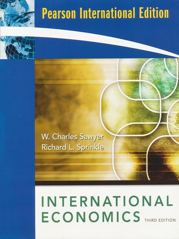 International Economics 3e/SAWYER