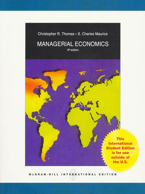 Managerial Economics 9e/THOMAS
