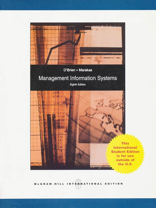 Management Information Systems 8e/OBRIEN