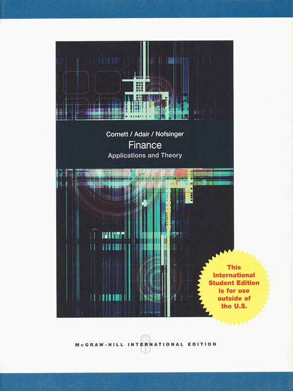 FINANCE, Applications and Theory/CORNETT