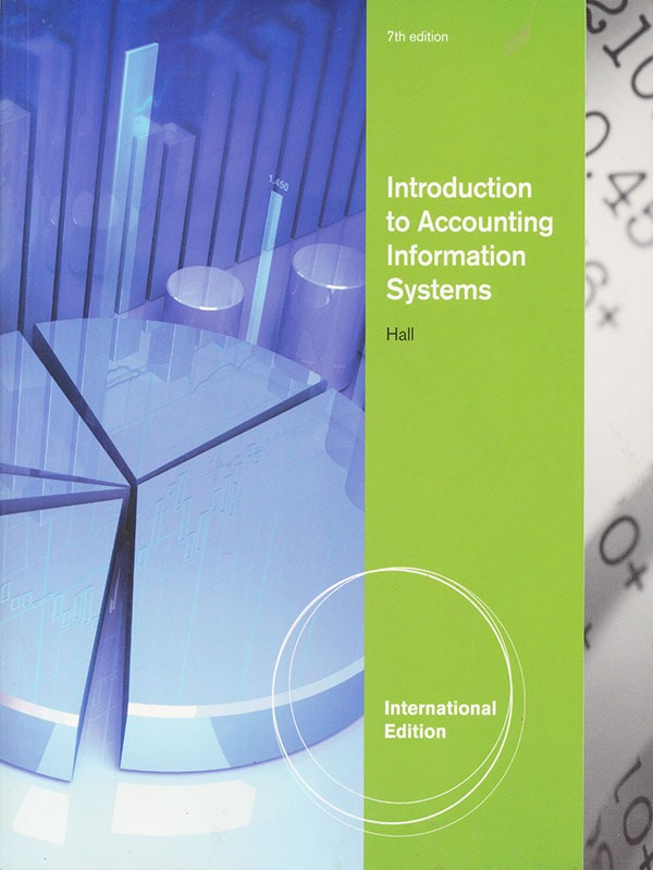 Introduction to Accounting Information Systems 7e/HALL