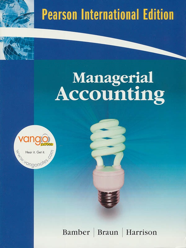 Managerial Accounting/BAMBER
