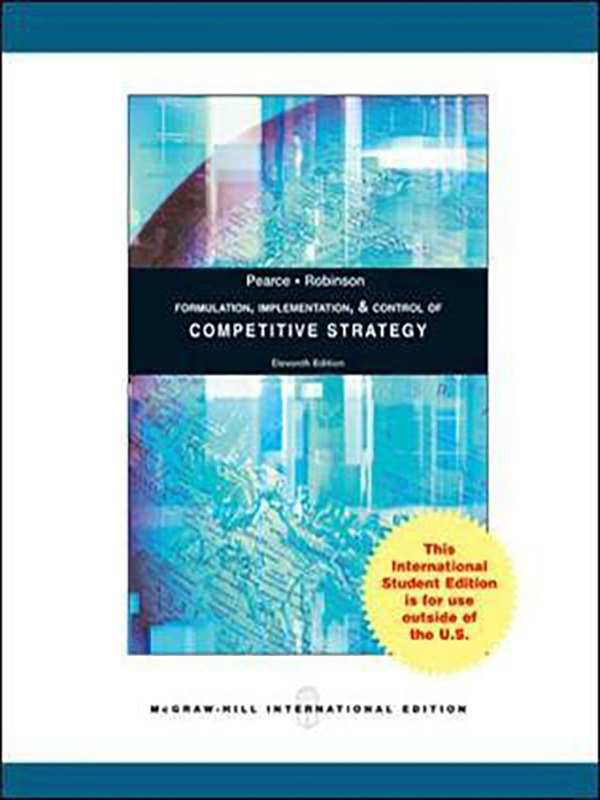 Competitive Strategy 11e/PEARCE