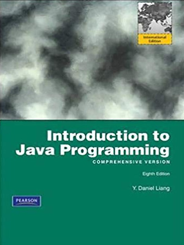 Introduction to JAVA Programming 8e/LIANG