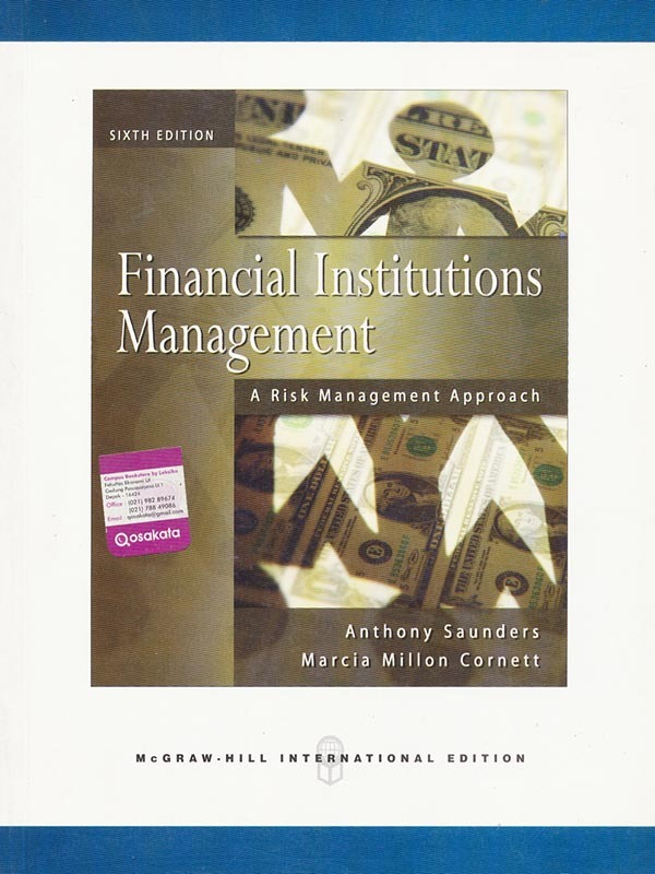 Financial Institutions Management 6e: Risk Management Approach/SAUNDERS