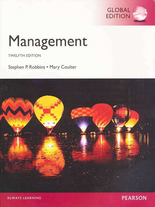 Management 12e-2014/ROBBINS