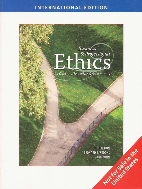Business and Professional Ethics 5e/BROOKS