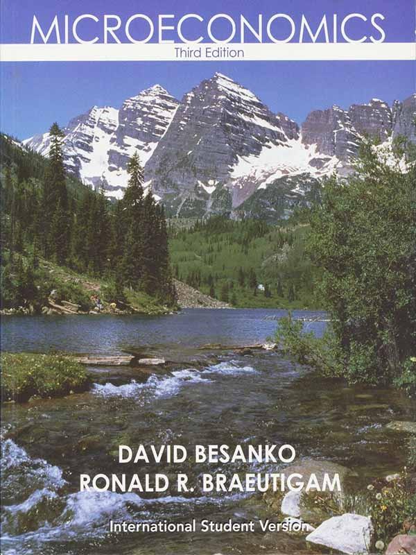 Microeconomics 3e/BESANKO