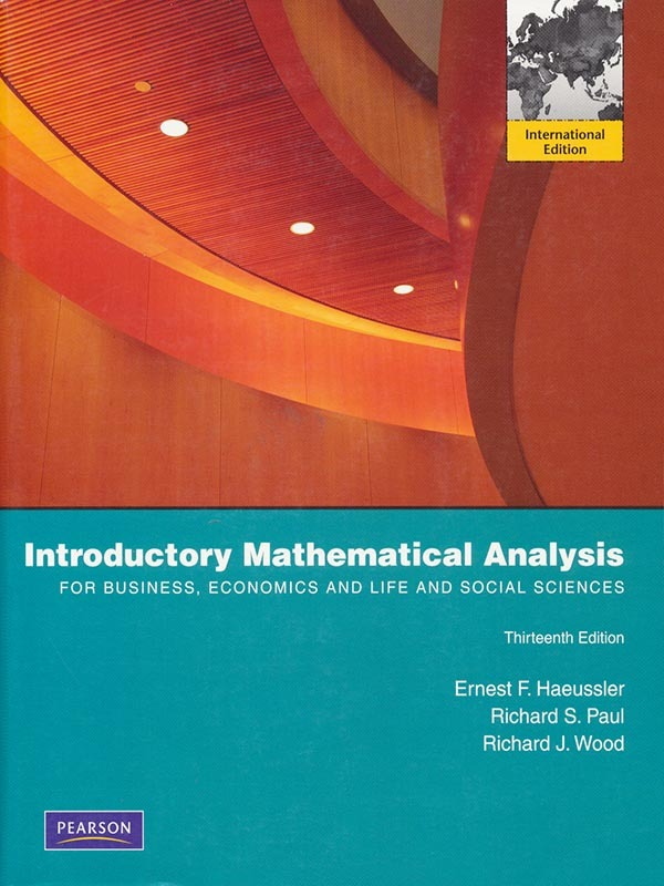 Introductory Mathematical for Business 13e/HAEUSSLER