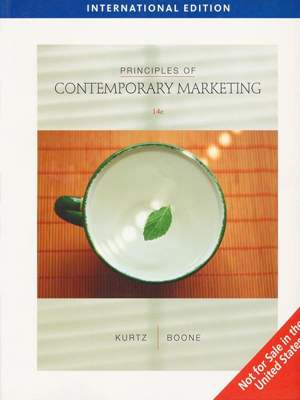 Principles of Contemporary Marketing 14e/KURTZ