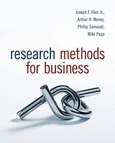 Research Methods for Business/JOSEPH