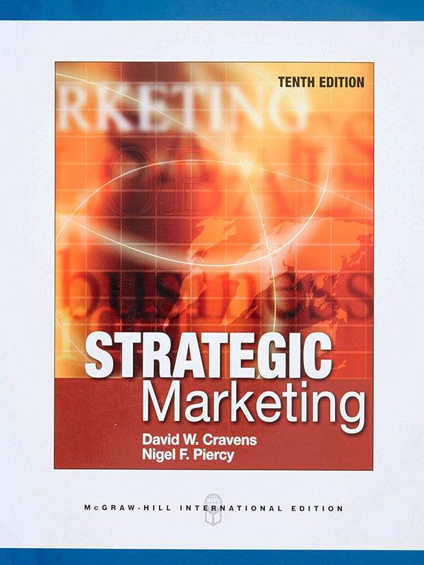 Strategis Marketing 10e/DAVID CRAVENS