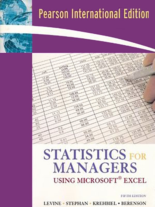 Statistics for Managers 5e/LEVINE