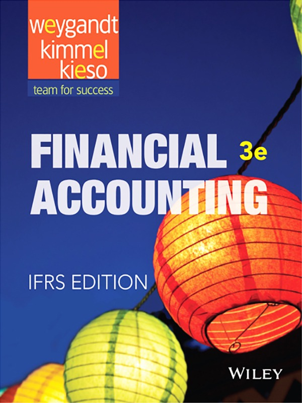 Financial Accounting 3e/Weygandt