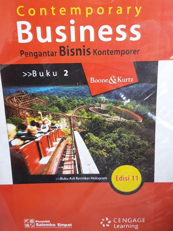Pengantar Bisnis Kontemporer 2 (e11)/Boone