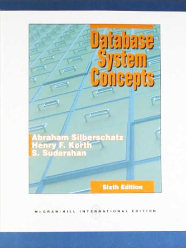 Database System Concepts 6e/Silberschatz