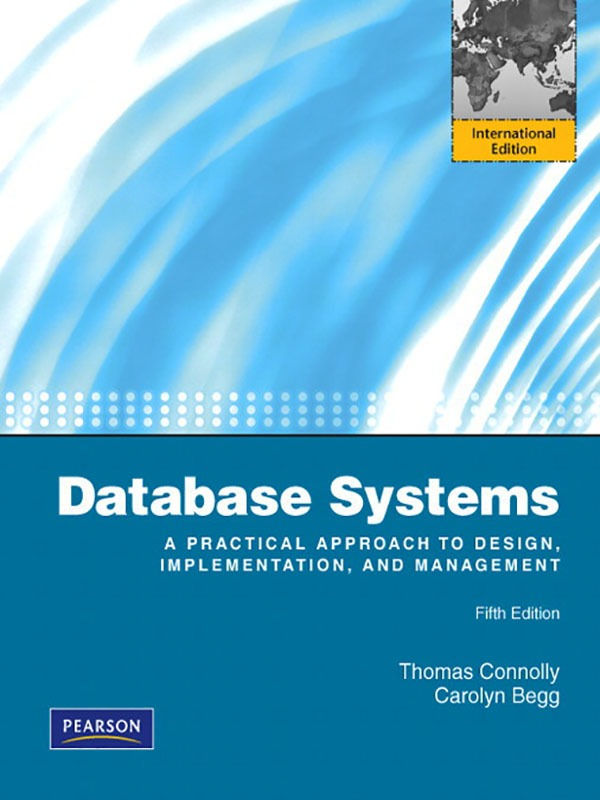 Database Systems 15e/Connolly