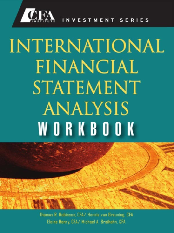 International Financial Statement Analysis/ROBINSON