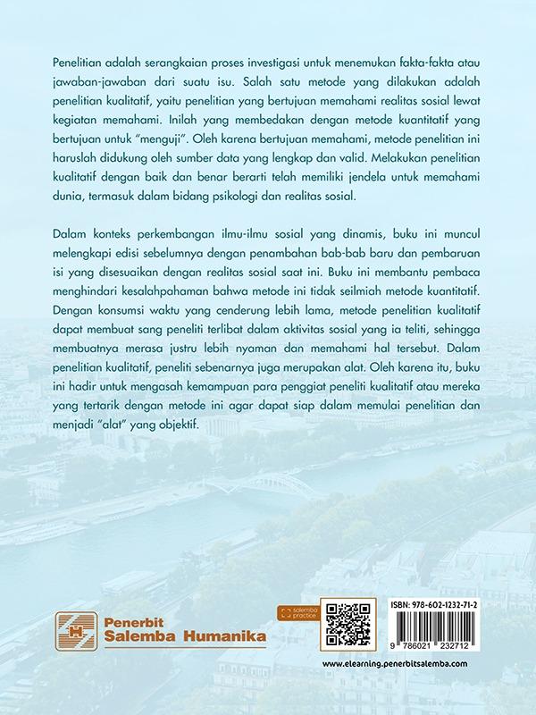 Metodologi Penelitian Kualitatif untuk Ilmu-Ilmu Sosial: Perspektif Konvensional dan Kontemporer (e2)/Haris Herdiansyah