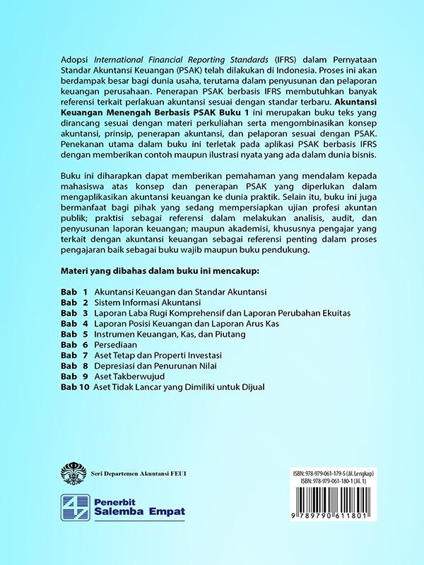 Akuntansi Keuangan Menengah Berbasis PSAK Buku 1/Dwi Martani,dkk