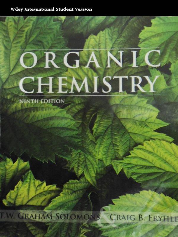 Organic Chemistry 9e/SOLOMONS