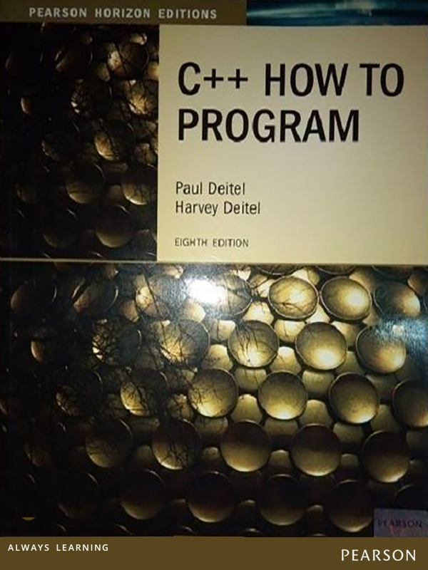 C++ How to Program 8e PHE 2013/DEITEL