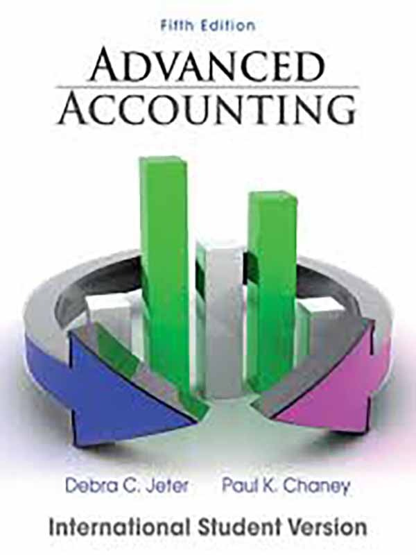 Advanced Accounting 5e; 2012/JETER
