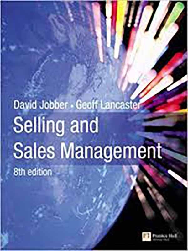 Selling & sales management 8e/JOBBER