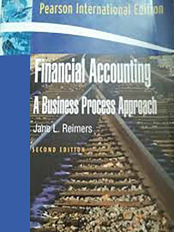 Financial Accounting 2e/REIMERS