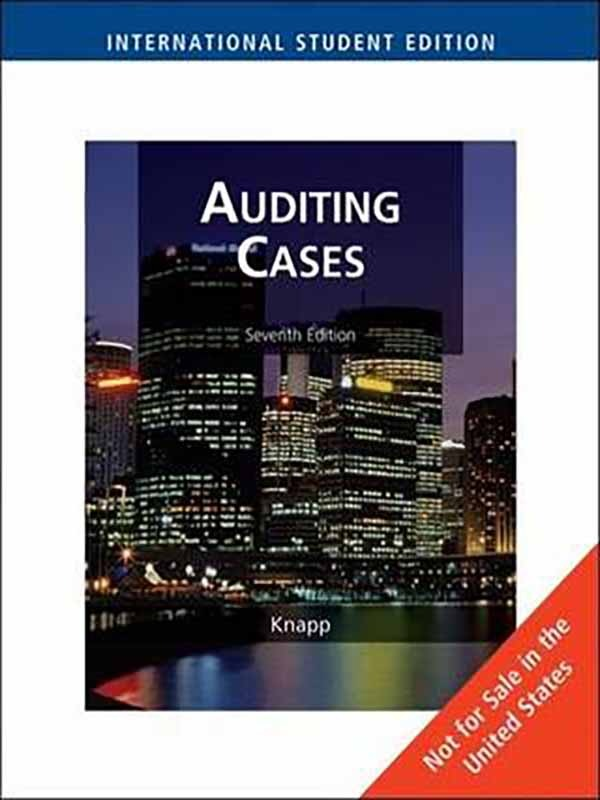 Auditing Cases 7e/KNAPP