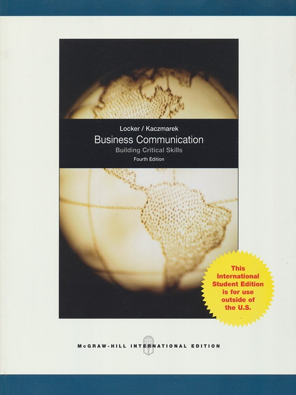 Business Communication 4e/LOCKER