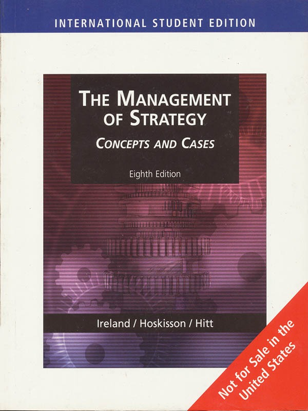 Management of Strategy 8e/HITT