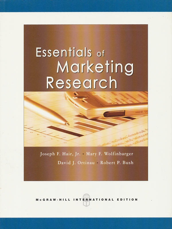 Essentials of Marketing Research/HAIR