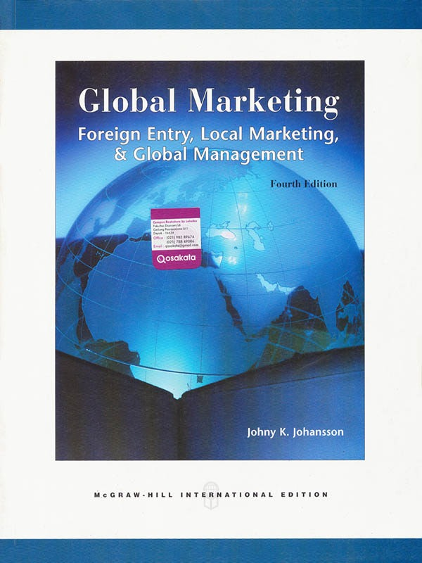 Global Marketing 4e/JOHANSSON