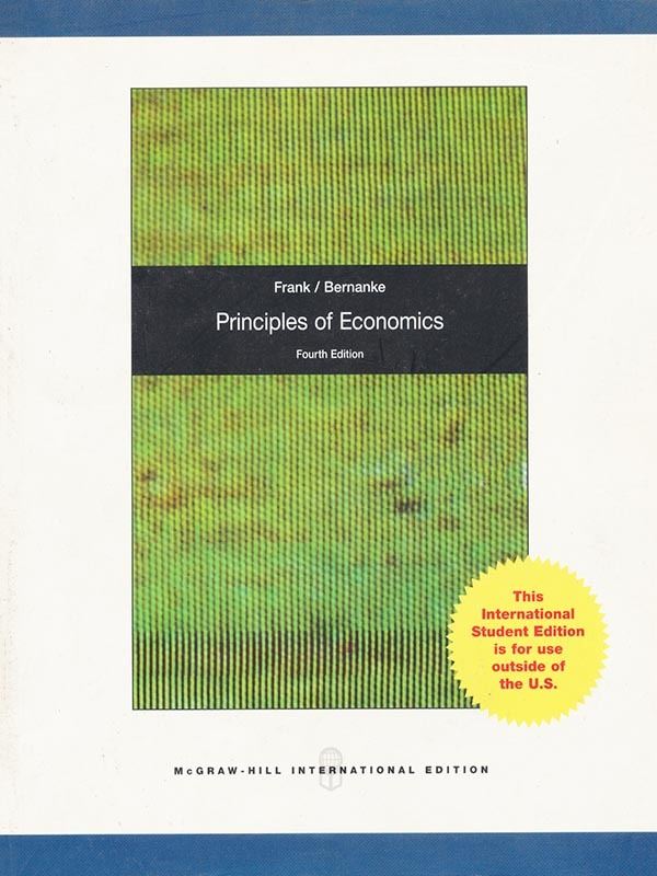 Principles of Economics 4e/FRANK