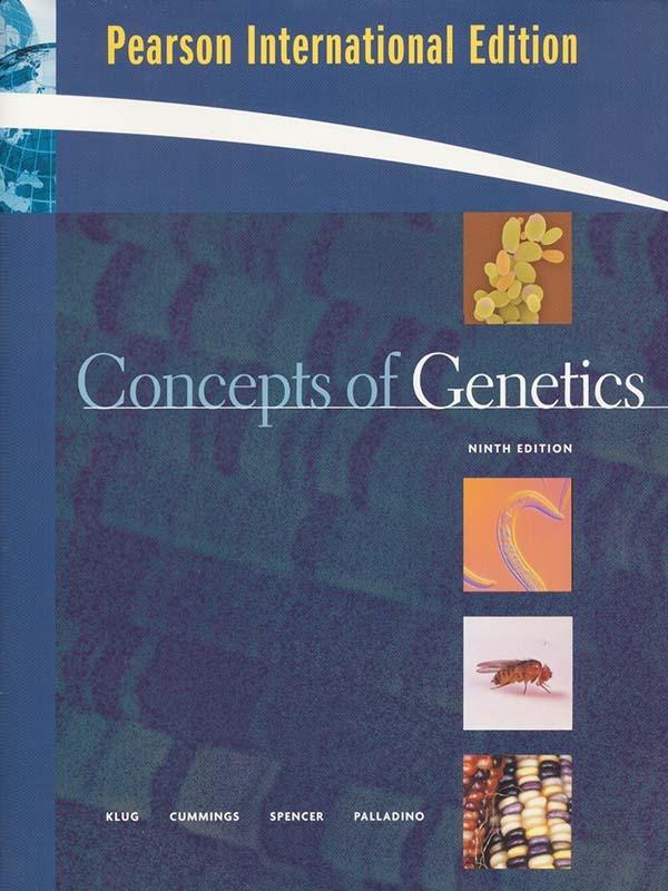 Concepts Genetics 9e/KLUG