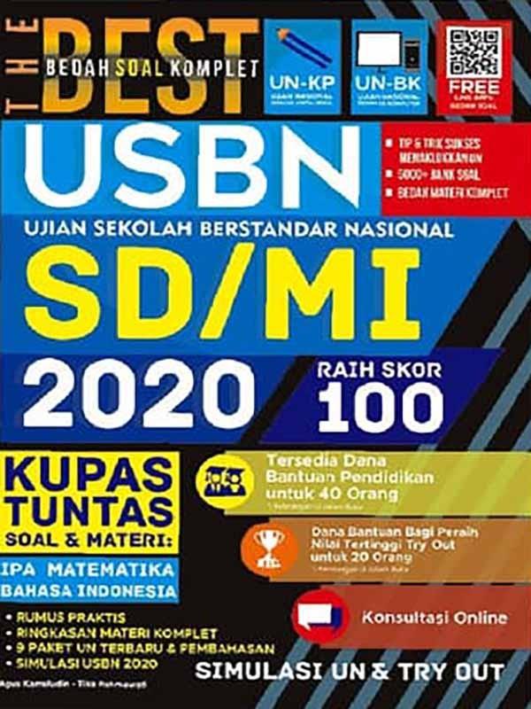 The Best Bedah Soal Komplet UN+USBN SD/MI 2020 Raih Skor 100