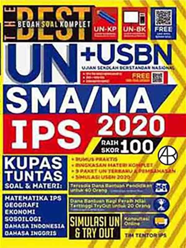 The Best Bedah Soal Komplet UN+USBN SMA/MA IPS 2020 Raih Skor 100