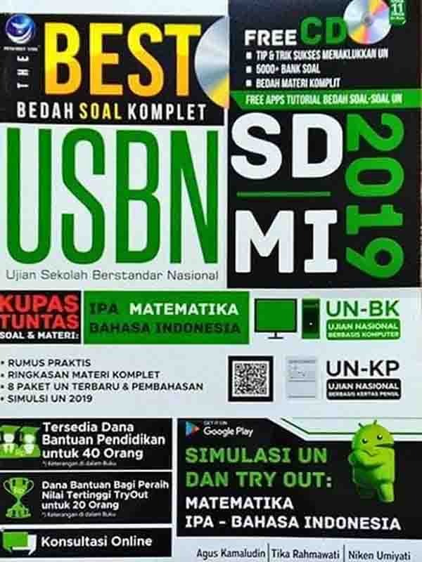 The Best Bedah Soal Komplet USBN 2019 SD/MI
